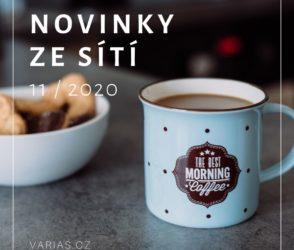 Novinky ze sítí 11/2020