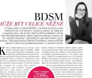 BDSM může být velice něžné